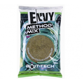 Bait-Tech Krmítková zmes Envy Green Hemp & halibut Method Mix 2kg