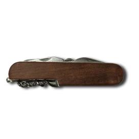 Traveler multifunkčný nôž 12v1 drevený