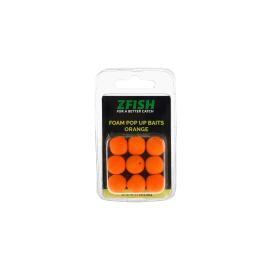 Zfish Penová Nástraha Foam Pop up Baits Orange 15mm