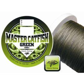 Giants Fishing Splietané šnúra Master Catfish Green 0,60mm / 1m