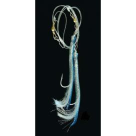 Trubičky Mix Ice fish - modro / strieborná