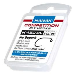 Muškárske háčiky Hanák H 450 BL 25ks