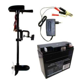 Set: Engine 18lb + akumulátor 17Ah / 12V + nabíjačka