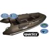 Sportex čln Shelf pevná podlaha so stredovým kýlom 390c sivý