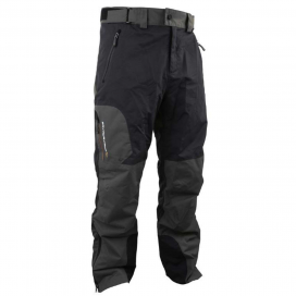 Savage Gear Nohavice Black Savage Trousers Grey