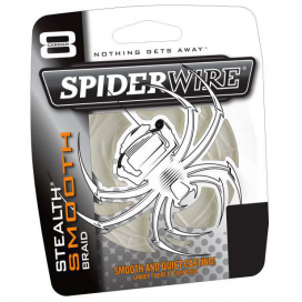 Spiderwire Splietané šnúra Stealth Smooth 8 Translucent 1m