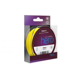 Fin Šnúra Hero 8 Fluo Yellow