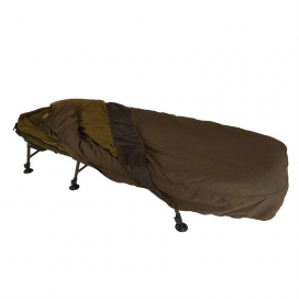 Solar Komplet - SP C-TECH Sleep System Wide (Ležadlo SP Wide Bedchair + 4-Season spací vak + prehoz)