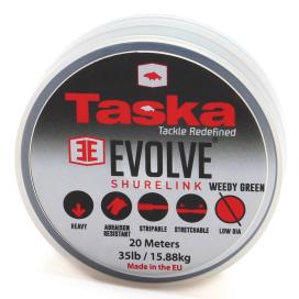 Taska Evolve - Shurelink komb. Náväzcový materiál zelený 20m 35lb