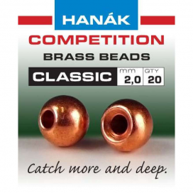 Hanák klasické mosadzné hlavičky Medené 2.7mm