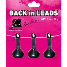 LK Baits Back in Leads (zadná olovo) 3pcs 24g