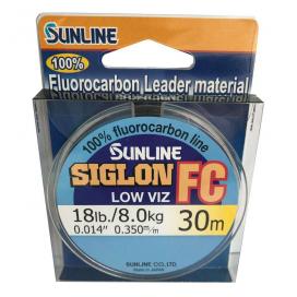 SUNLINE Fluorocarbon SIGLON FC 30m, 0.350mm / 18 Lbs