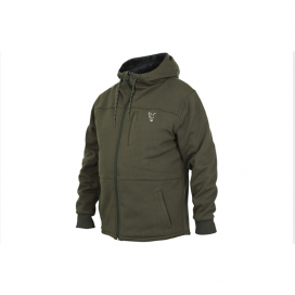 Fox Mikina collection Green - Silver Sherpa hoodie