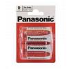 Panasonic batérie D / R20 zinkovo karbónová 2ks