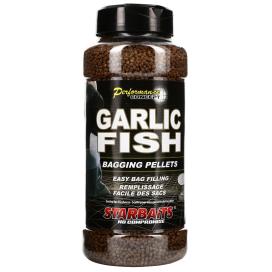 Starbaits Pelety Garlic Fish Bagging 700g