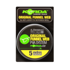 Korda PVA Funnel Web Micromesh - 5m refill