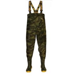 Vass Prsačky brodící nohavice Tex 785 Camo Chest Wader