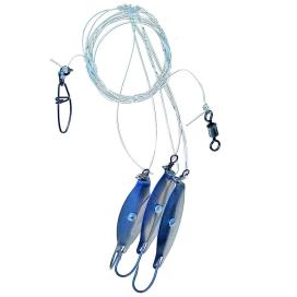 Ice fish akustické plandavky 4/0 160cm 3ks