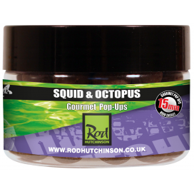 Rod Hutchinson Pop Ups Squid Octopus with Amino Blend Swan Mussell 20mm