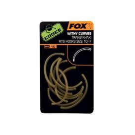 Fox Edges with curves trans khaki na veľ. Háčiku 10-7 10ks