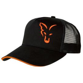 Fox šiltovka Black & Orange Trucker Cap