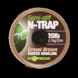 Korda náväzcová šnúra N-TRAP Semi -Stiff