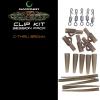 Gardner Systémek Covert Clip Kit | C-Thru Green (Priehľadná zelená)