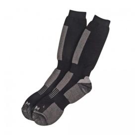 Dam Thermo Socks Black Grey