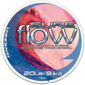 Gardner Náväzcové vlasec Sure Flow Clear | 70m / 9,1kg (20lb)