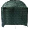 Mivardi rybársky dáždnik s bočnicami Camou-PVC 2,5m
