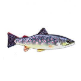 Gaby Vankúš plyšová ryba pstruh 36cm