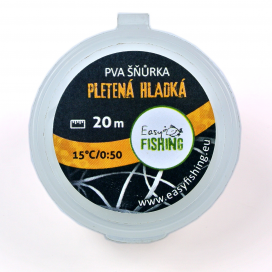 EasyFISHING šnúrky, pásky - PVA šnúrka silnejší hladká 20m