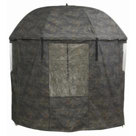 Mivardi Rybársky dáždnik PVC Camou kompletne zakrytý