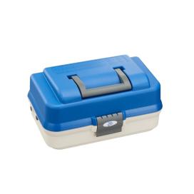 Plastica Panaro rybársky kufrík 143/2-poschodový bielo-modrý