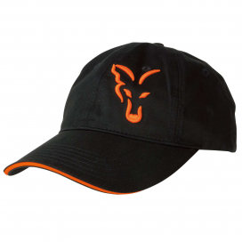 Fox šiltovka Black & Orange Baseball Cap