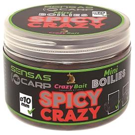 Sensas Mini Boilies Crazy Spicy koření 80g