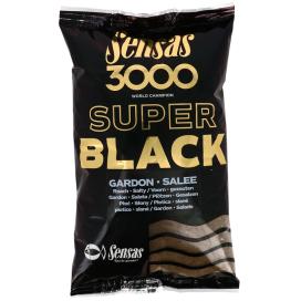 Sensas Kŕmenie 3000 Dark Salty Gardons (plotice-čierna-slaná) 1kg