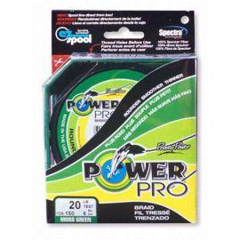 Rybárska pletená šnúra Power Pre 0.76mm 95kg zelená 1 m