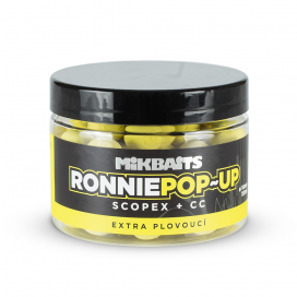 Mikbaits Boilies Ronnie Pop-Up Scopex CC 14mm 150ml