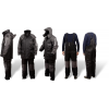 Quantum Kids 152 Zimný oblek čierna / sivá