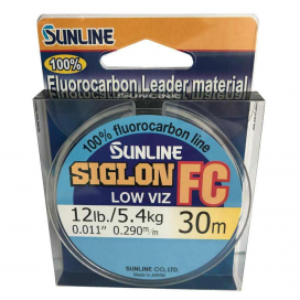 SUNLINE Fluorocarbon SIGLON FC 30m, 0.290mm / 5.40 kg