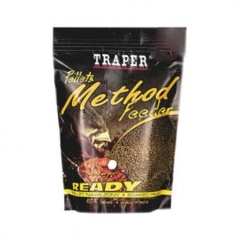 Traper Pelety Method Feeder Ready Banán 2mm 500g