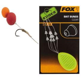 Fox Zarážky Edges Bait Bungs Clear