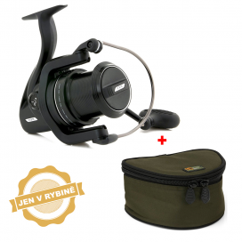 Fox Navijak FX9 + obal na navijak Fox reel case