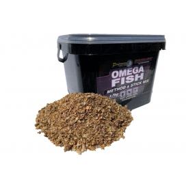 Starbaits Kŕmenie Method Stick Mix Omega Fish 1,7kg