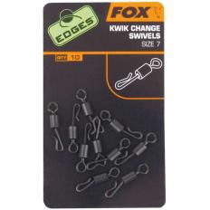 Fox Edges Kwik Change Swivels vel.7 10ks