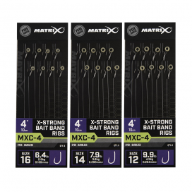 Matrix náväzcami MXC 4 X Strong Bait Band 10cm 8ks