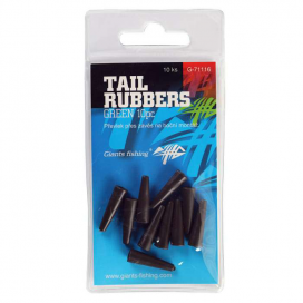 Giants Fishing Prevlek na Záveská Tail Rubbers Green / 10ks (20mm)