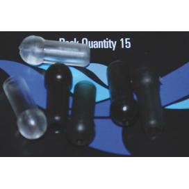 Osprey bižutéria - Chameleon protinárazový korálku zelený 15ks