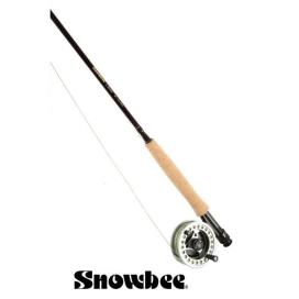 Rybársky prút Snowbee Classic Fly 6ft, # 2/3, 4-diel